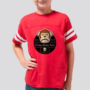 drunkeymonkey Youth Football Shirt