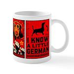 Dachshund Propaganda Coffee Mug Mugs