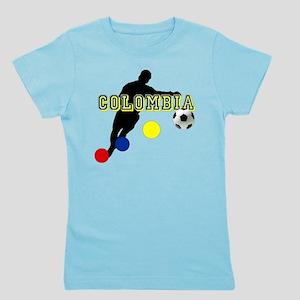 Columbia Soccer Player Girl's Tee