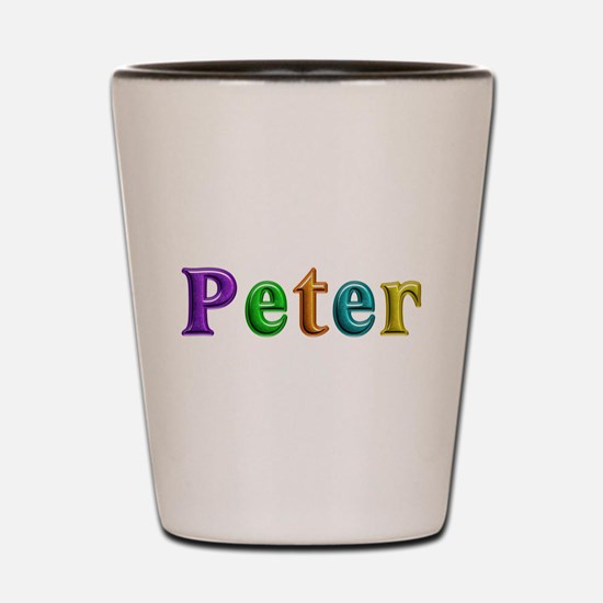 Peter Shiny Colors Shot Glass