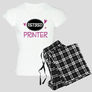 Retired Printer Women's Light Pajamas