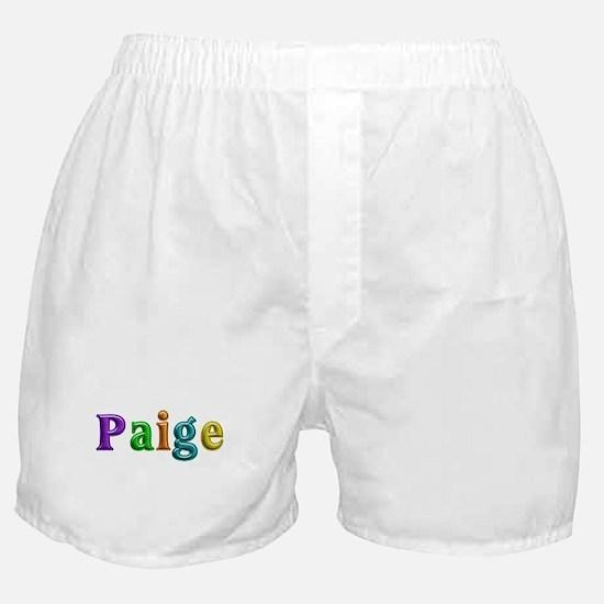 Paige Shiny Colors Boxer Shorts