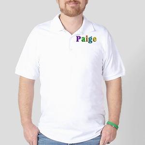 Paige Shiny Colors Golf Shirt