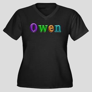 Owen Shiny Colors Plus Size T-Shirt