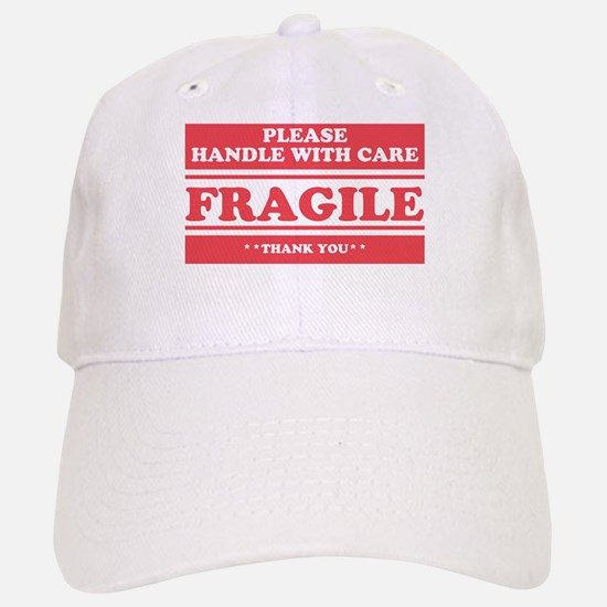 Fragile Handle with Care Baseball Baseball Baseball Cap