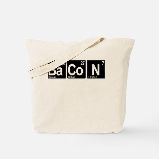 Periodic Bacon Tote Bag