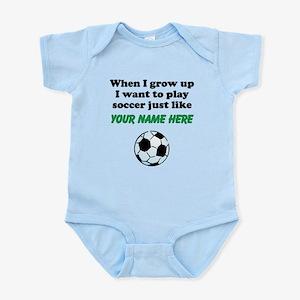 Play Soccer Just Like (Custom) Body Suit