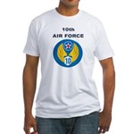 10TH AIR FORCE Fitted T-Shirt