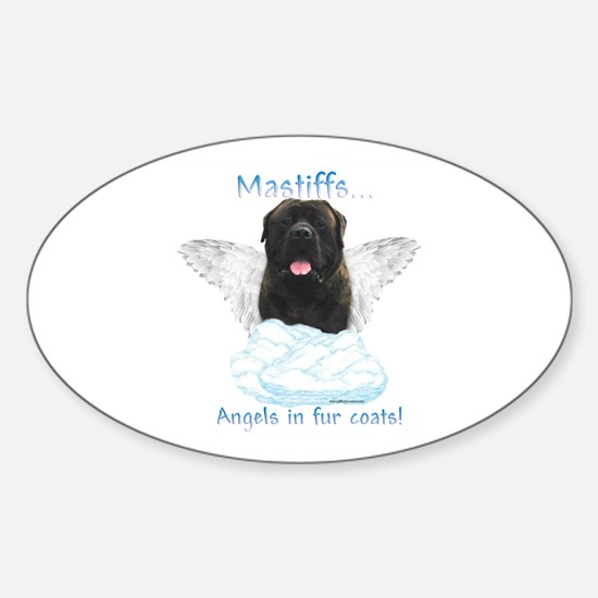 Brindle 20 Oval Decal