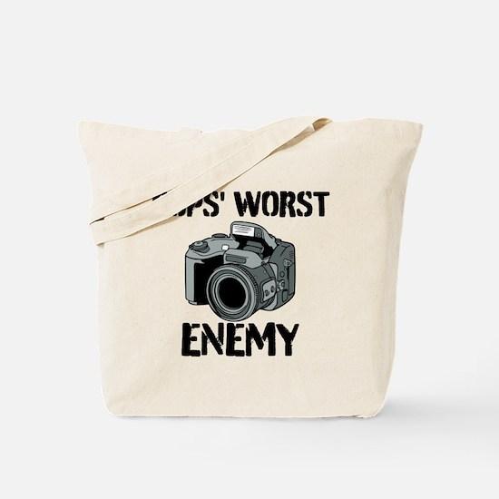 Camera: Cops Worst Enemy Tote Bag