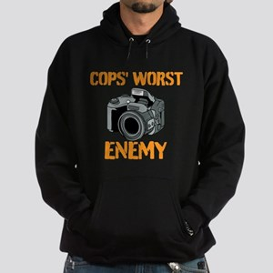 Camera: Cops Worst Enemy Hoodie
