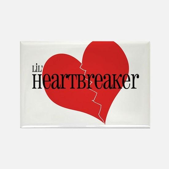 Lil' Heartbreaker Rectangle Magnet (10 pack)