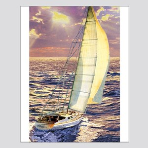 Off Shore Small Poster