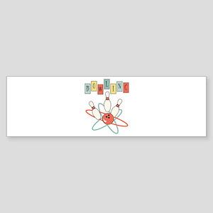Bowling Bumper Sticker