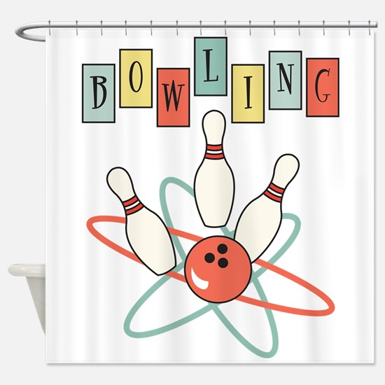 Bowling Shower Curtain