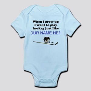 Play Hockey Just Like (Custom) Body Suit