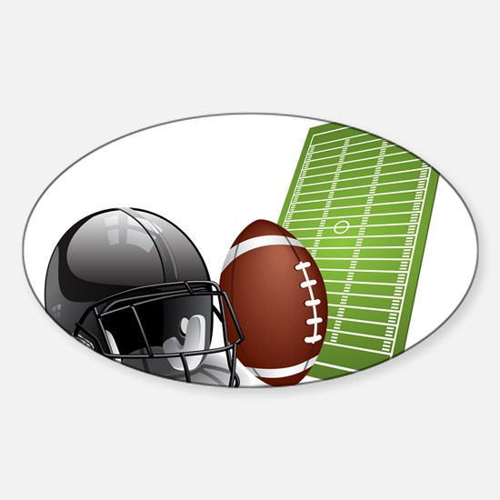 Football - Sports - Athlete Decal