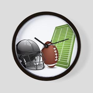 Football - Sports - Athlete Wall Clock