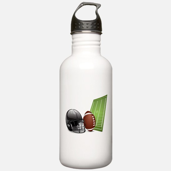 Football - Sports - Athlete Water Bottle