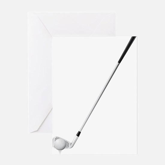 Golf - Golfer - Sports Greeting Cards