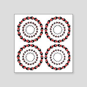 "giro Square Sticker 3"" x 3"""