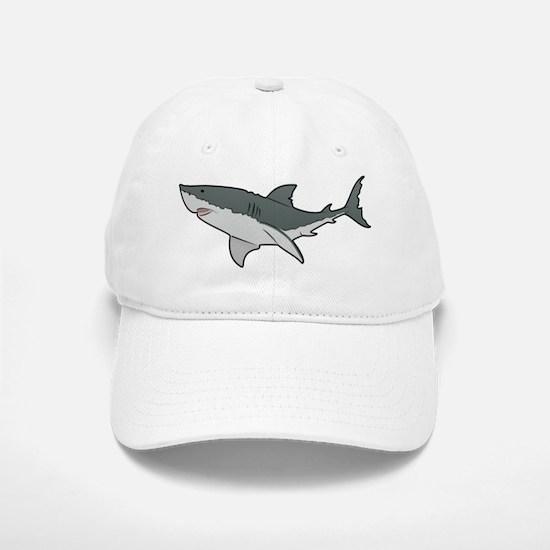 Great White Shark Baseball Baseball Baseball Cap