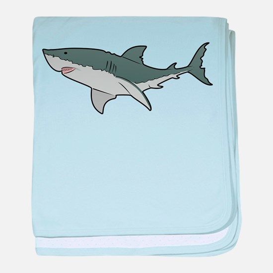 Great White Shark baby blanket