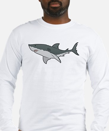 Great White Shark Long Sleeve T-Shirt