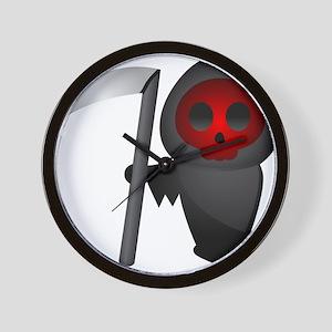 Halloween - Grim Reaper Wall Clock