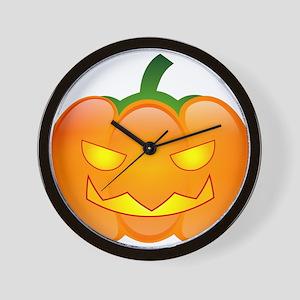 Halloween - Jack O Lantern Wall Clock