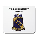 7TH BOMBARDMENT GROUP Mousepad