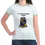 7TH BOMBARDMENT GROUP Jr. Ringer T-Shirt