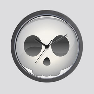 Halloween - Skull Wall Clock