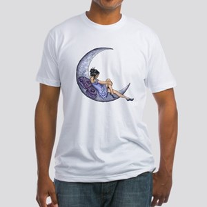 A Fairy Moon Fitted T-Shirt
