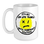 Fun & Games Large Mug