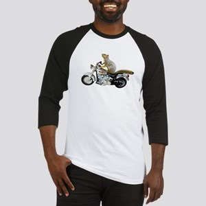 Motorcycle Squirrel Baseball Jersey