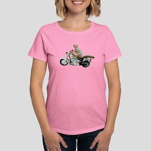 Motorcycle Squirrel Women's Dark T-Shirt