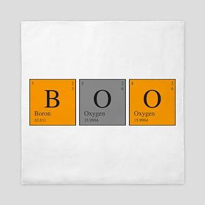 Periodic Boo Queen Duvet