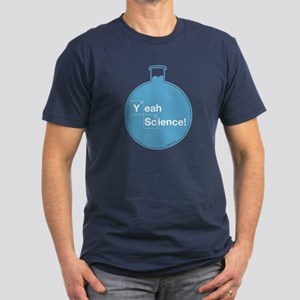 Yeah Science Men's Fitted T-Shirt (dark)