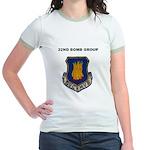 22ND BOMB GROUP Jr. Ringer T-Shirt