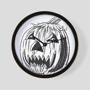 Halloween - Jack OLantern Wall Clock