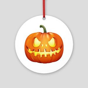 Halloween - Jackolantern Ornament (Round)