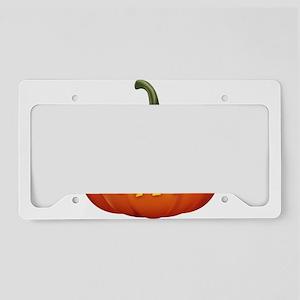 Halloween - Jackolantern License Plate Holder