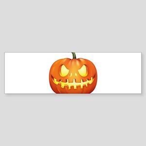 Halloween - Jackolantern Bumper Sticker