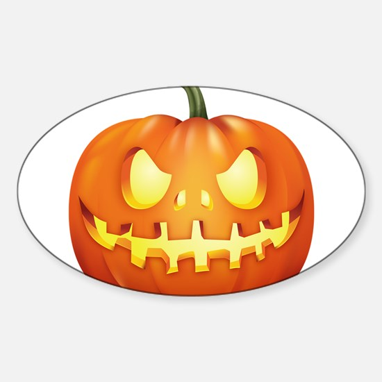 Halloween - Jackolantern Decal