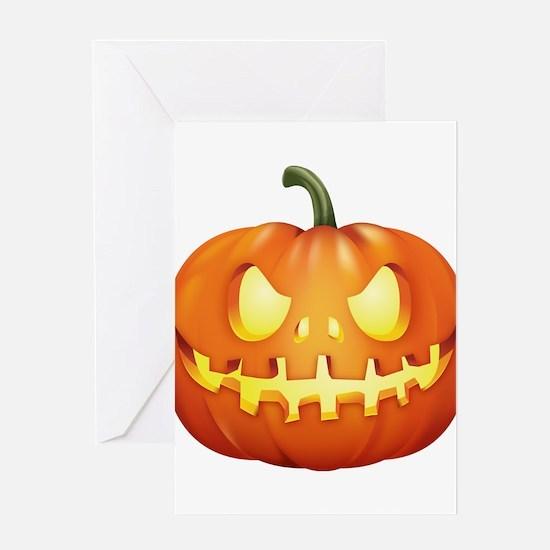 Halloween - Jackolantern Greeting Cards
