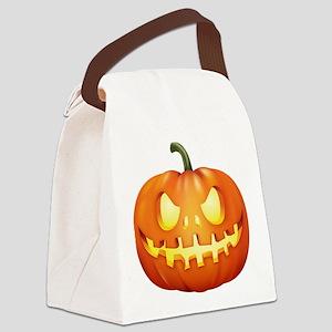 Halloween - Jackolantern Canvas Lunch Bag