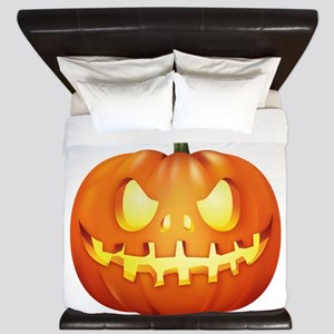 Halloween - Jackolantern King Duvet