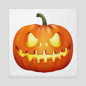 Halloween - Jackolantern Queen Duvet