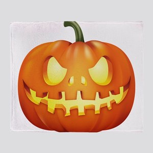 Halloween - Jackolantern Throw Blanket
